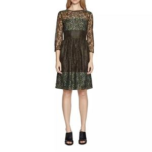 NWT French connection fit & flare lace dress
